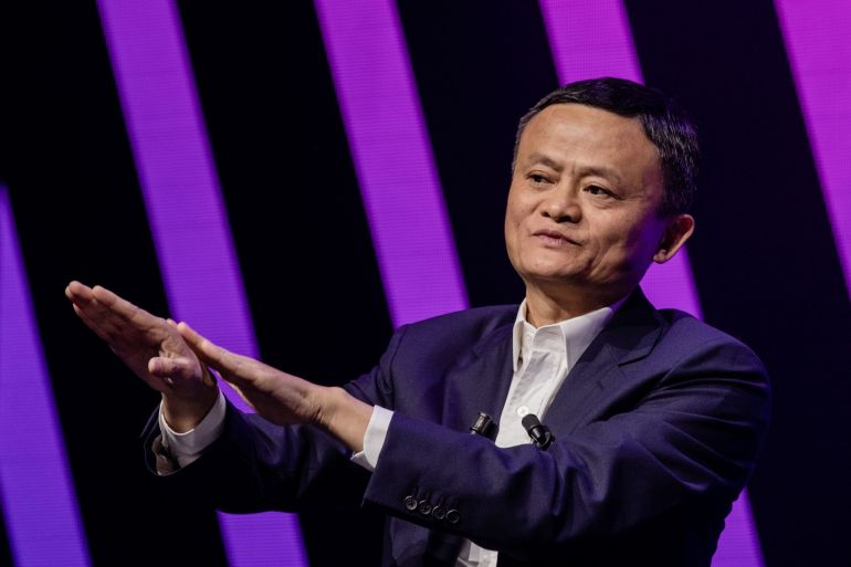 Jack Ma, chairman of e-commerce giant Alibaba Group Holding Ltd, saw his fortune increase by $2.3bn to $52.1bn, according to the Bloomberg Billionaires Index.[File: Bloomberg]