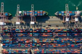 Exports helped drive South Korea's economic growth [File: SeongJoon Cho/Bloomberg]