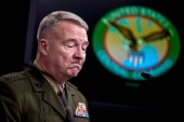 US Marine General Kenneth McKenzie told a US Congress panel Afghanistan could devolve into civil war [File: Andrew Harnik/AP Photo]