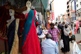 On March 13, the Sri Lankan governmenty announced plans to ban the wearing of burqas and said it would close more than 1,000 Islamic schools, citing national security [File: AP/Eranga Jayawardena]