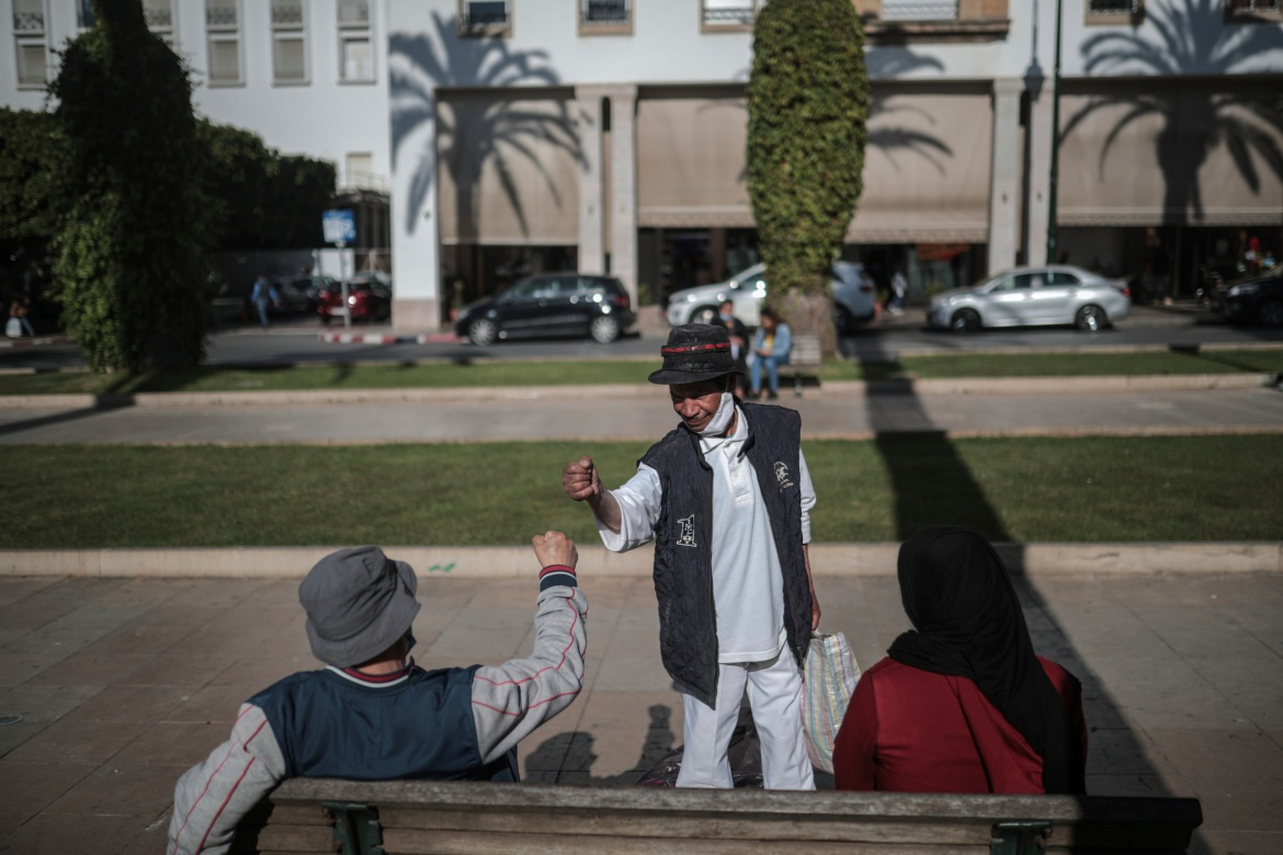The pandemic has added further turbulence to his life. When Morocco went into a lockdown last year, Charlo lost his already-meagre earnings as he was no longer able to perform. [Mosa'ab Elshamy/AP Photo]