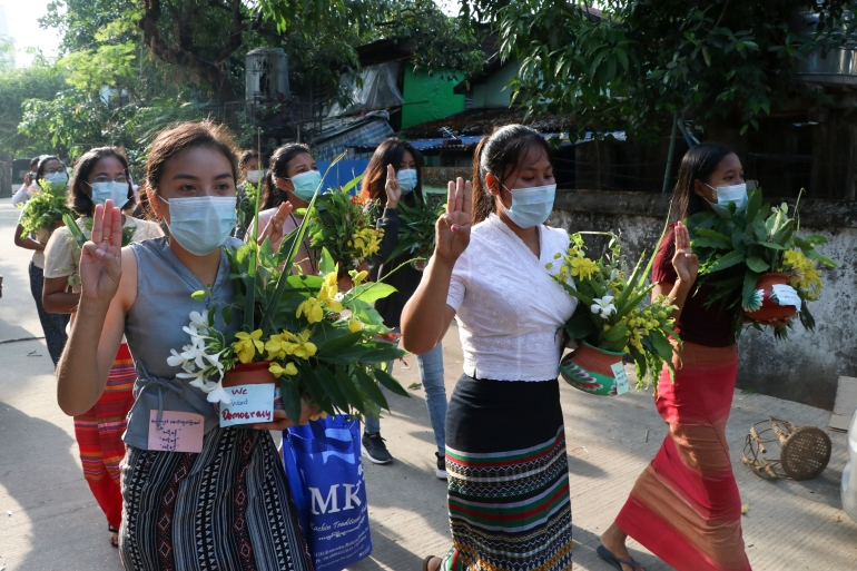 Call for protests as Myanmar marks Thingyan, toll rises to 710 | Myanmar News | Al Jazeera