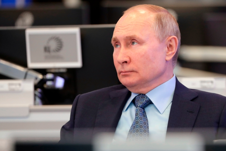 The United States has for weeks raised the prospect of more sanctions against Russia, lead by President Vladimir Putin, for alleged election meddling and the hacking of federal agencies [File: Mikhail Metzel/The Associated Press]