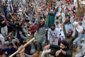 Debate comes amid negotiations with the now-banned TLP after days of violent protests by the party [File: AP]