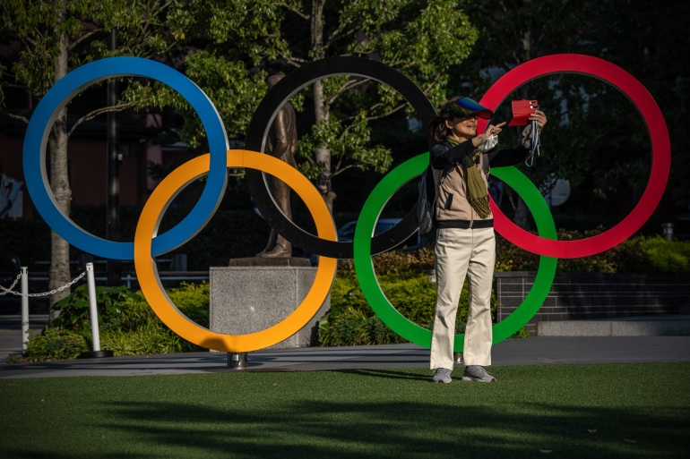 The Games, already delayed by one year, are due to start in 92 days [Carl Court/Getty Images]
