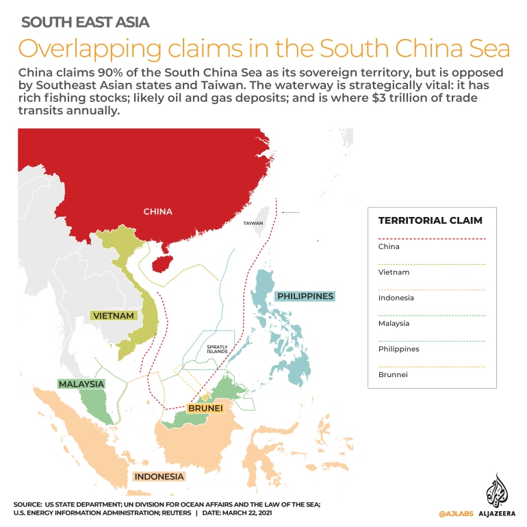 INTERACTIVE South China Sea claims 02 Is Duterte squandering The Hague victory to appease Beijing?   South China Sea News