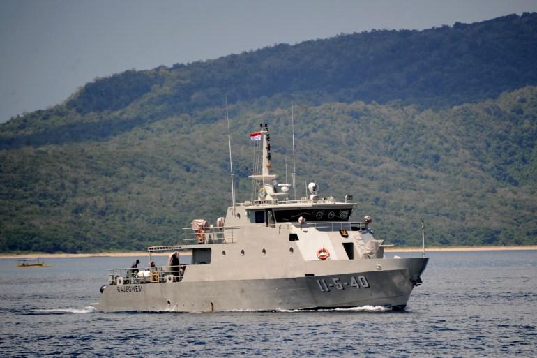Pejabat Indonesia sebelumnya menganggap kapal selam itu hilang tetapi sekarang mengatakan tenggelam [File: Sonny Tumbelaka / AFP]