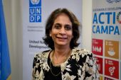 UNDP Assistant Secretary-General Kanni Wignaraja [Handout photo]