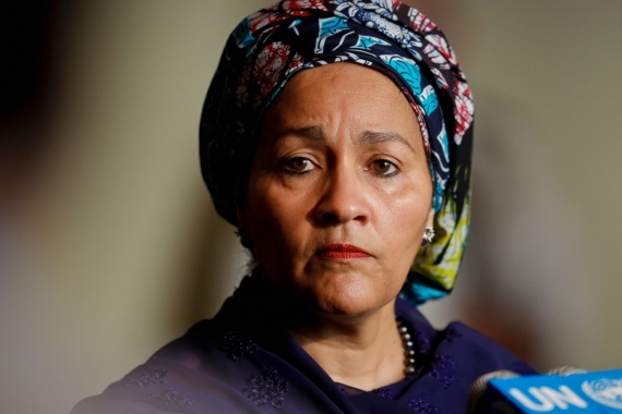 Amina Mohammed: 'A woman as president of Nigeria would be great'