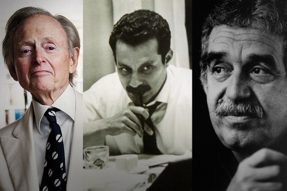 Unconventional journalists: Wolfe, Kanafani and García Márquez