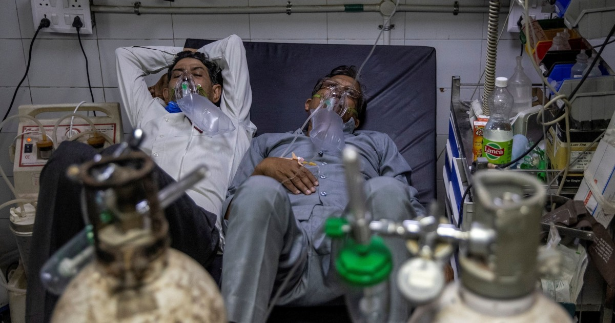 French oxygen giant diverts supply to India's slammed hospitals