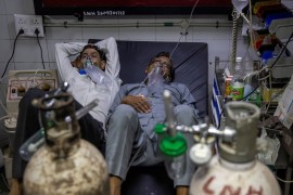 French gas giant Air Liquide is sending most of its liquid oxygen output to India's healthcare sector as demand for medical oxygen in India has soared roughly tenfold, or by more than 50 percent of the country's total production capacity, the company said on Friday [File: Danish Siddiqui/Reuters]