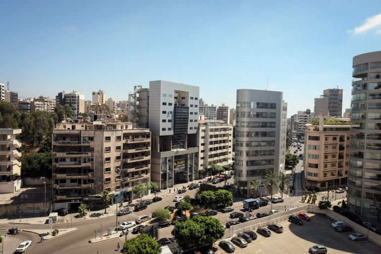 The Lebanese government resigned in the aftermath of a massive explosion in Beirut last August, and has been running the country in a caretaker capacity as efforts to form a new administration have stalled [File: Bloomberg]
