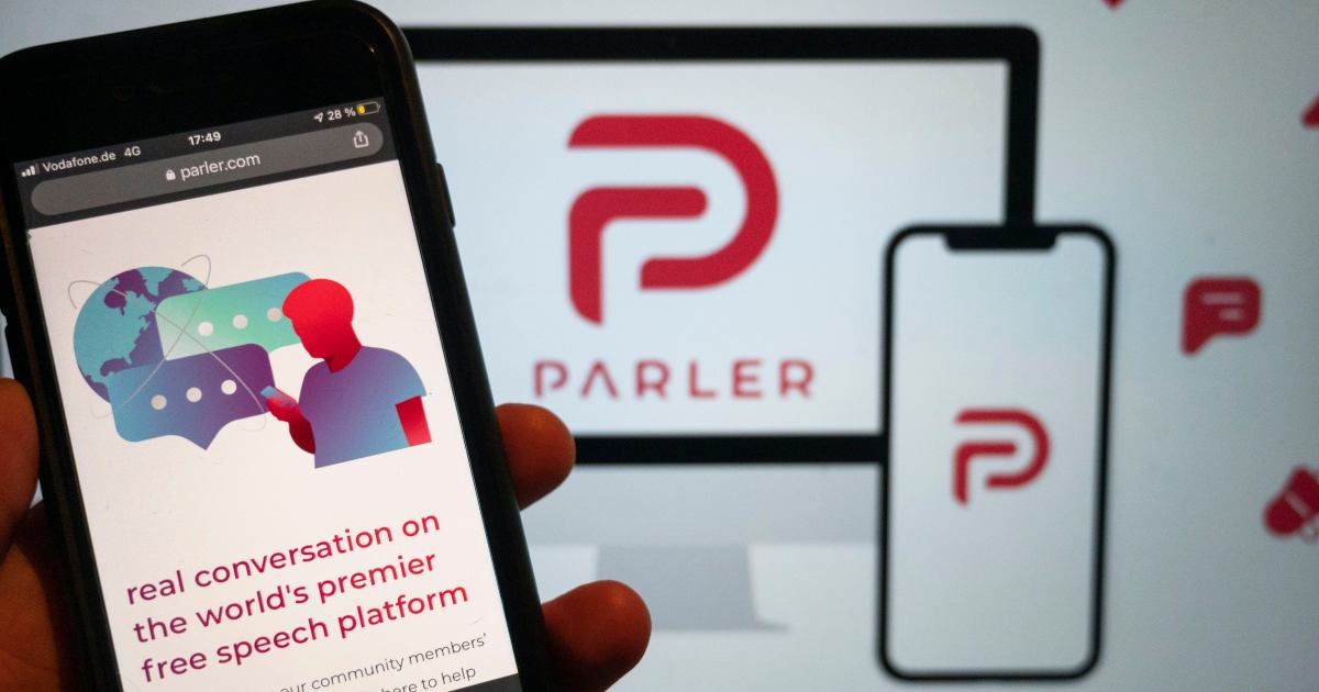 Amazon accuses social network Parler of trying to conceal owners  image