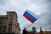Russia's central bank raised the rate for the second time this year as inflation, its main area of responsibility, accelerated to 5.8 percent in March, its highest since 2016 [File: Maxim Shemetov/Reuters]