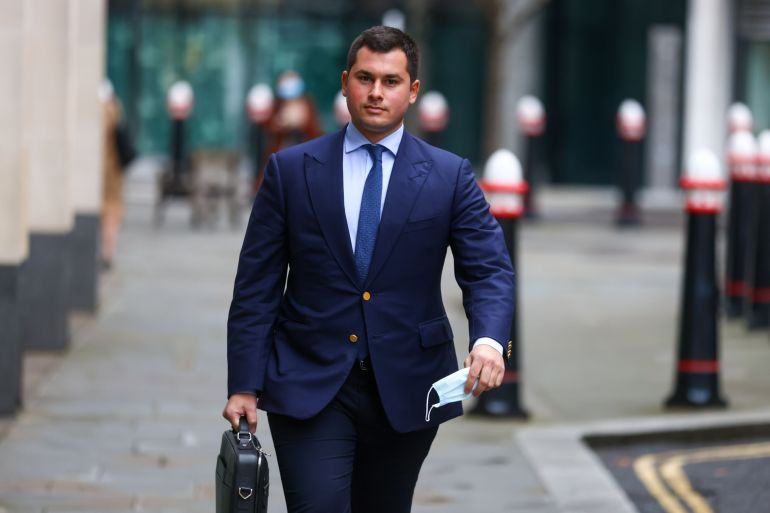 Temur Akhmedov is at the centre of the United Kingdom's largest divorce battle, between his parents, and lost a London court ruling over his role in hiding assets from his mother [File: Simon Dawson/Bloomberg]