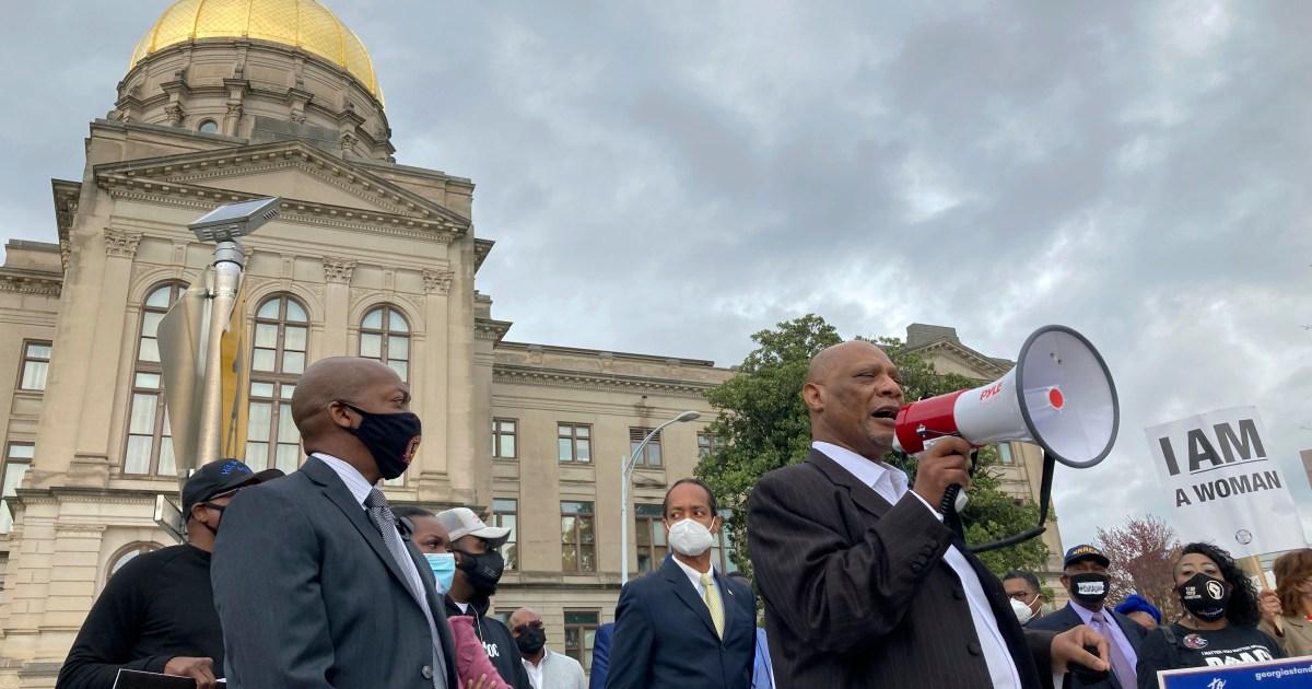 US faith leaders urge Home Depot boycott over Georgia voting law