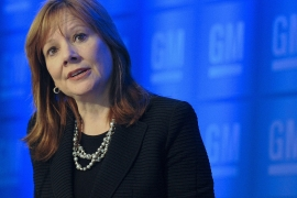 General Motors Co Chief Executive Officer Mary Barra is among industry leaders who signed a letter to Michigan's lawmakers saying that changes to voting laws should not restrict people from casting ballots [File: Bloomberg]