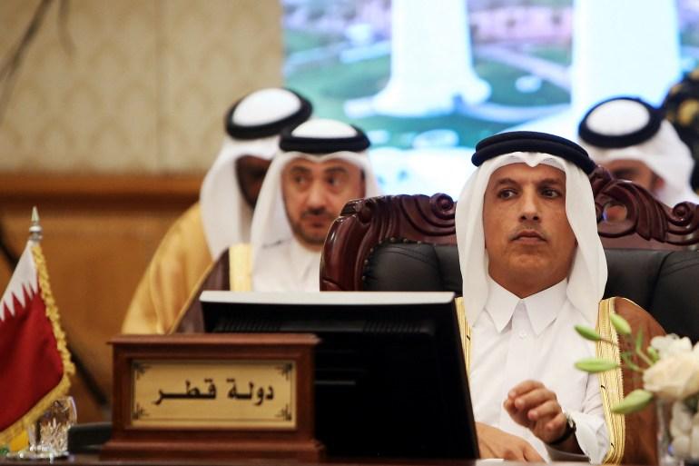 Qatar's Minister of Finance Ali Shareef al-Emadi [File: Yasser Al-Zayyat/AFP]