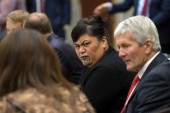Nanaia Mahuta is the first Māori woman to become New Zealand's foreign minister [File: Dave Lintott / AFP]