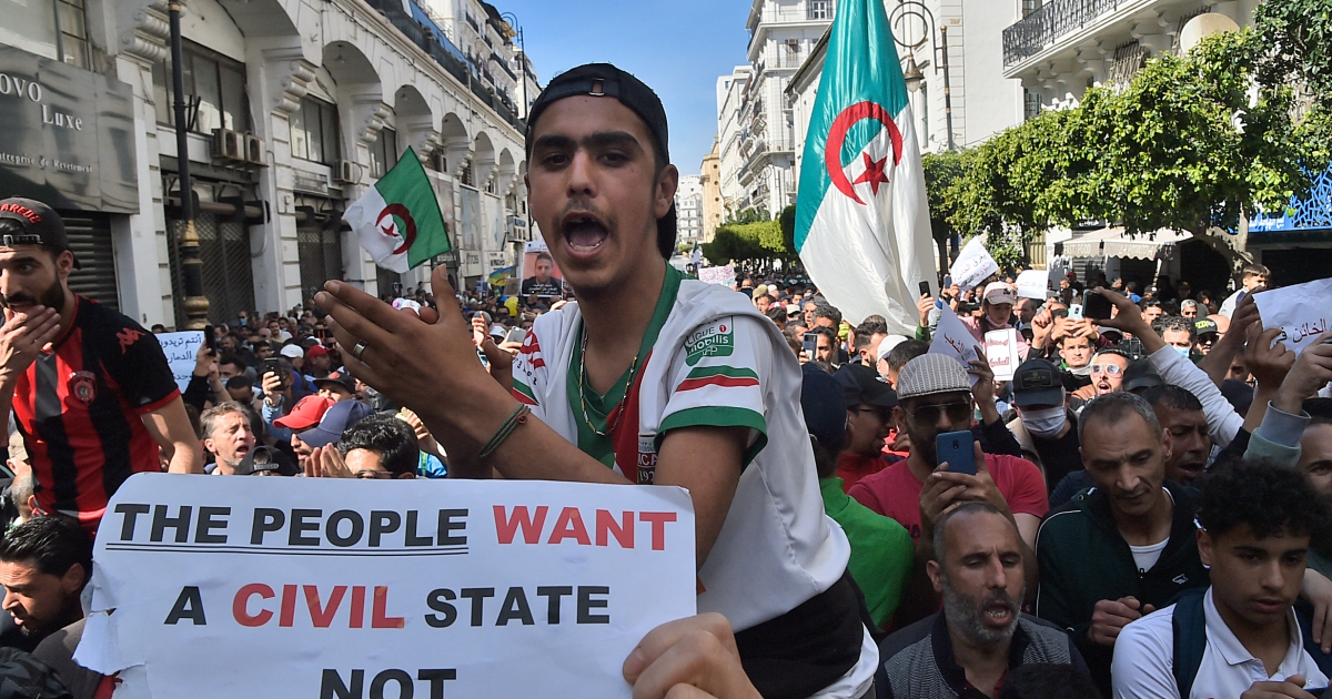 Photo of Algeria to ban unauthorized protests  New protests