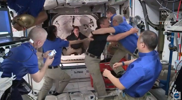 - 000 98N2ZG - Astronauts leave ISS, begin return to Earth on SpaceX craft | Space News