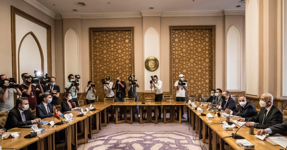 Egypt and Turkey hold 'frank' official talks, first since 2013 - aljazeera