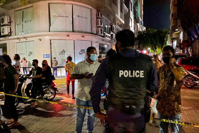 Police in the Maldives did not give details on the latest suspect arrested [AFP]