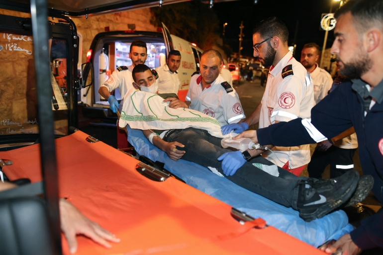 Dozens of Palestinians hurt in Al-Aqsa clashes: Live   Protests News   Al  Jazeera