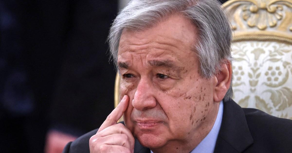 Guterres warns China, US to avoid new Cold War ahead of UN summit
