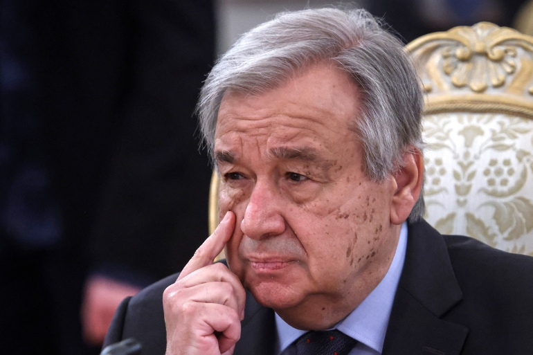 Antonio Guterres decried the 'tsunami of suffering' sparked by the coronavirus crisis [File: AFP]