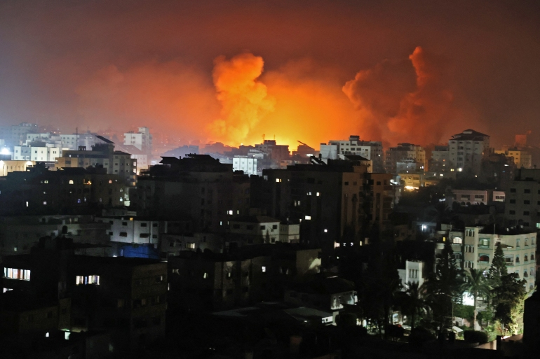 Netanyahu vows to continue offensive and Hamas pledge resistance