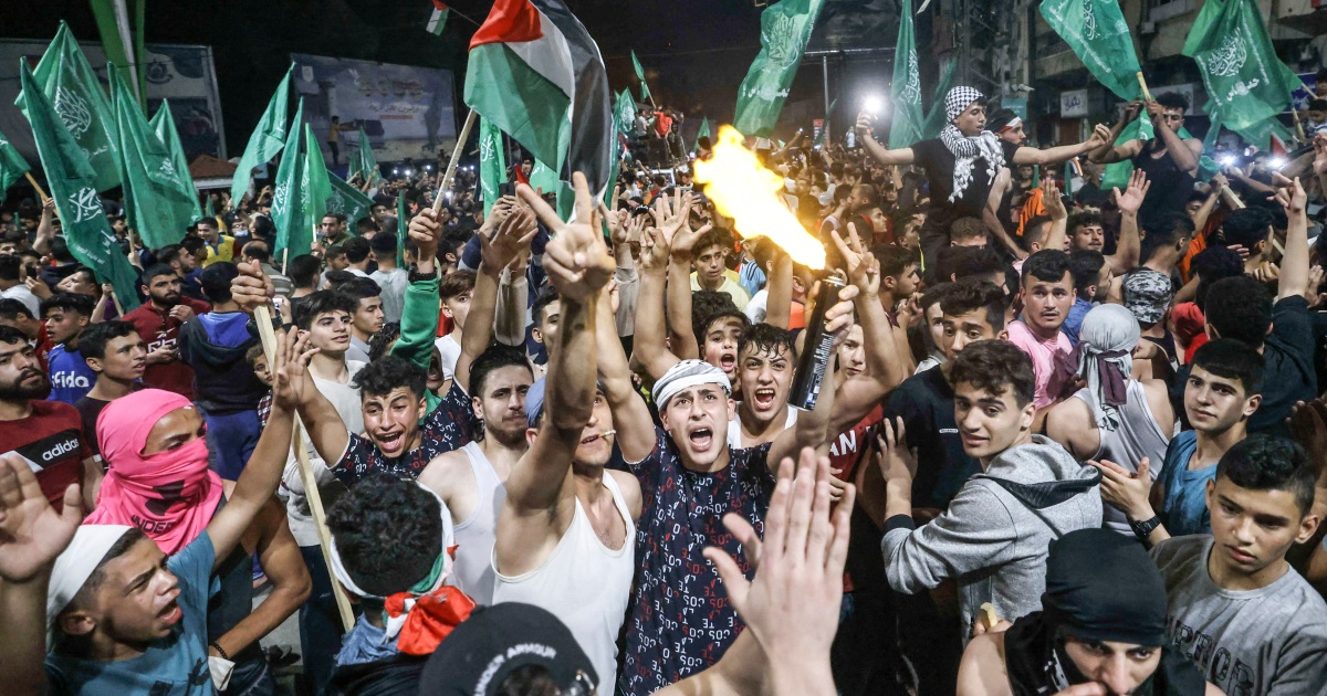Celebrations in Gaza as ceasefire takes hold