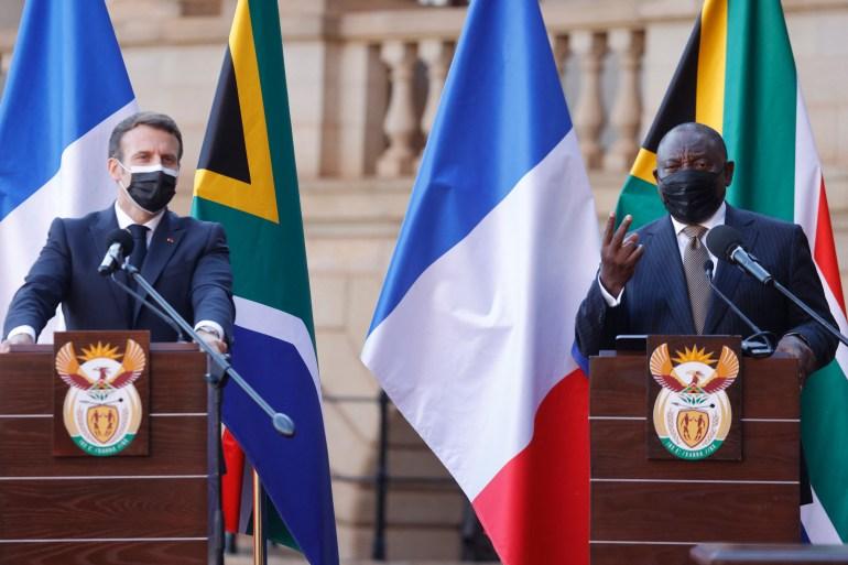 Macron says France will help Africa make more COVID-19 vaccines |  Coronavirus pandemic News | Al Jazeera