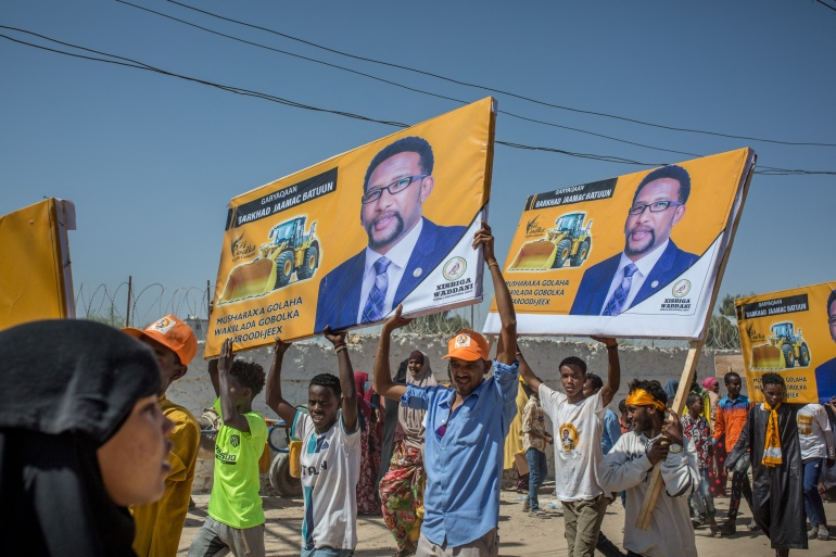 Somaliland broke away from Somalia in 1991 but no country has recognised the region [Mustafa Saeed/AFP]