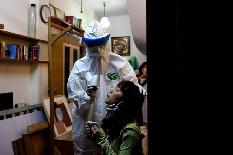 Ada tujuh varian virus korona yang diketahui di Vietnam sebelum pengumuman barubaru ini, menurut kementerian kesehatan File AFP