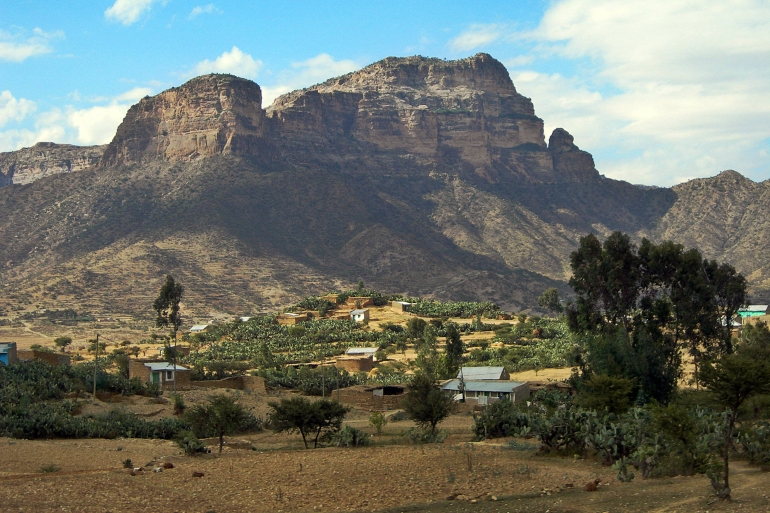 An estimated 35,000 Irob people live in semi-arid mountainous areas in Tigray state's northeastern corner at the Ethiopia-Eritrea border [File: AFP]