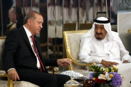 The two leaders have held two phone conversations in recent weeks [File: Yasin Bulbul/ Turkish Presidential Press Service/AFP]