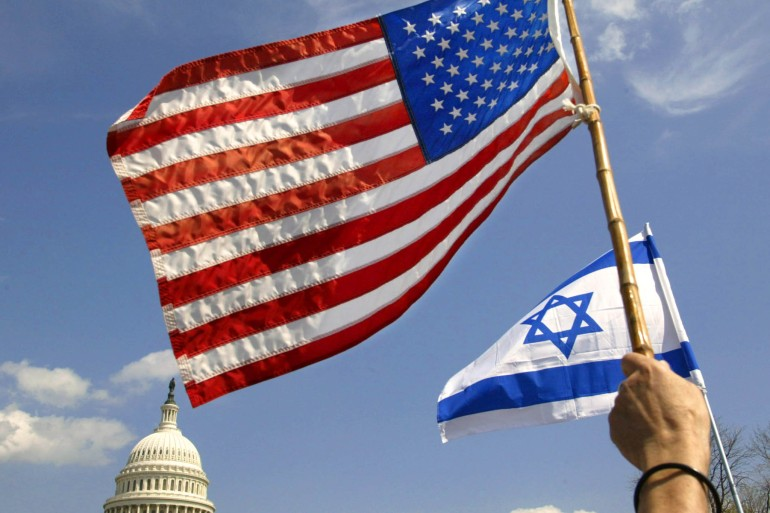 The United States has a long history of blocking UN resolutions against Israel [File: Kevin Lamarque/Reuters]