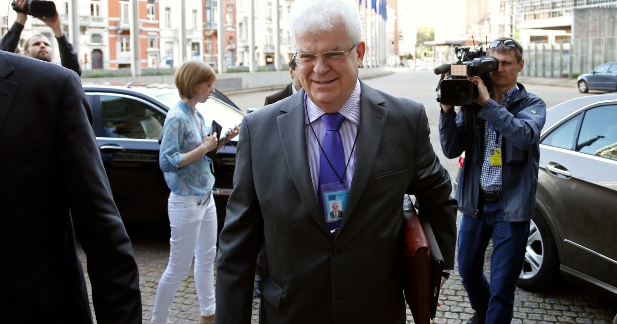 EU summons Russian envoy over travel bans on Brussels officials