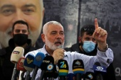 Haniya renewed the call for all 'our Palestinian people to unite the ranks' [File: Aziz Taher/Reuters]