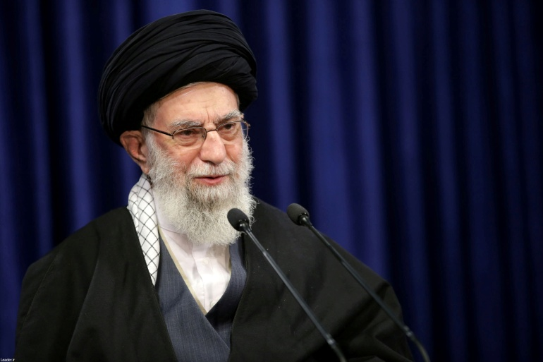 Iranian Supreme Leader Ayatollah Ali Khamenei said he was 'sorry' to hear Zarif's comments on assassinated General Qassem Soleimani [File: Reuters]