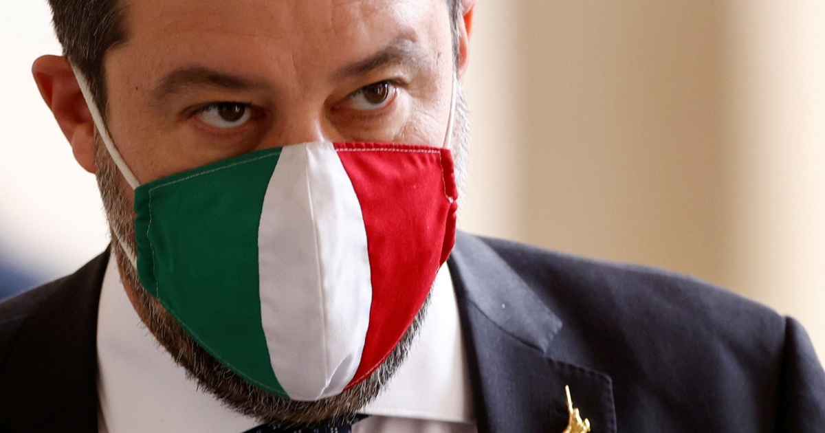 """Photo of Italian judge Salvini  the Court of Justice has thrown out a """"kidnapping"""" case against"""