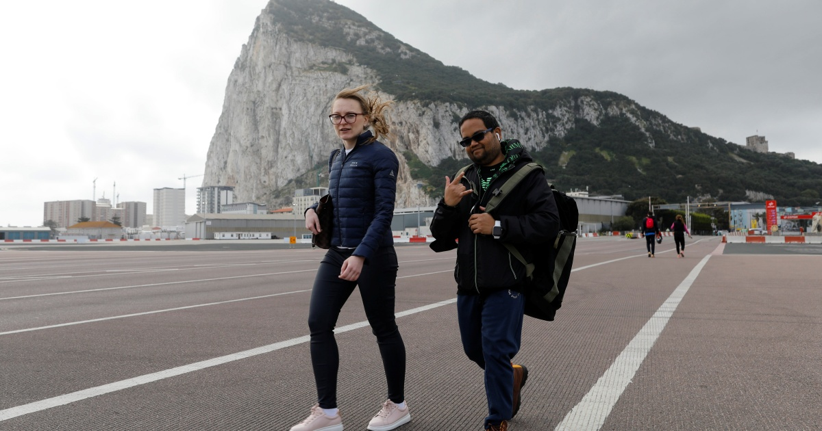 In Europe, Gibraltar offers glimpse of post-pandemic life