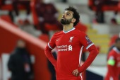 Liverpool's Egyptian forward Mohamed Salah was among several high-profile players to weigh in on the Israel-Palestine conflict in recent days [File: David Klein/Reuters]