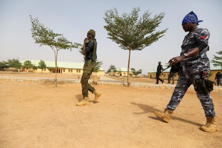 Armed groups carrying out kidnapping for ransom have been blamed for a series of raids on schools and universities in northern Nigeria in recent months [File: Afolabi Sotunde/Reuters]