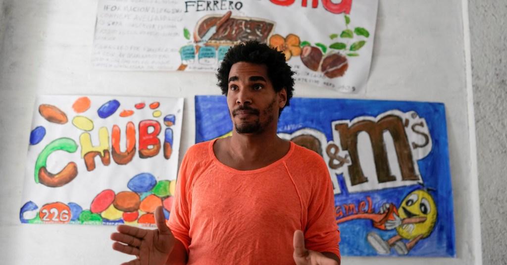Der kubanische Künstler und Dissident Luis Manuel Otero Alcántara | Bildquelle: https://t1p.de/t27m © Alexandre Meneghini/Reuters | Bilder sind in der Regel urheberrechtlich geschützt