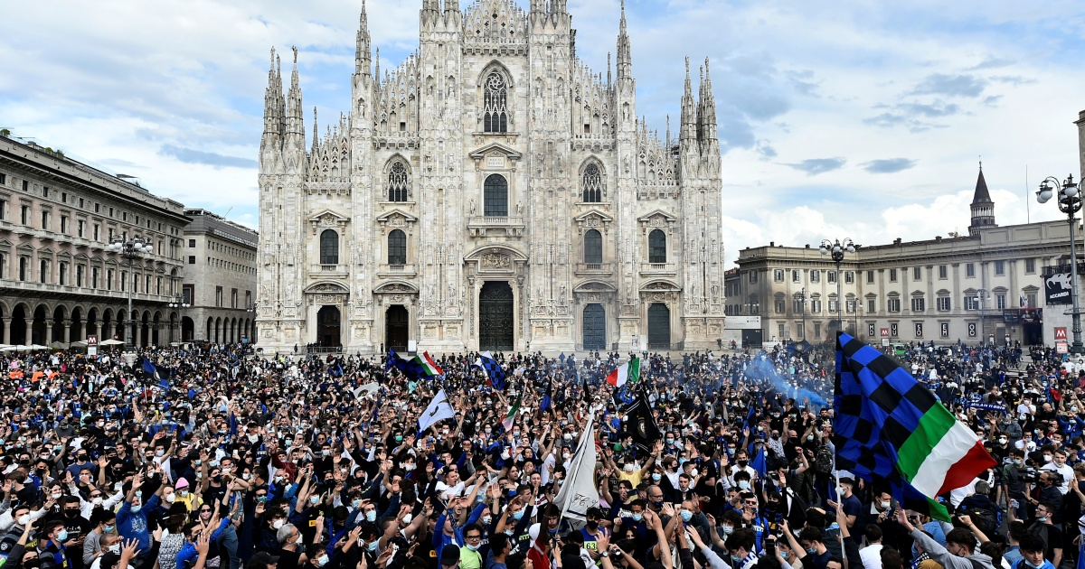 Italy: Inter Milan win first Serie A title in 11 years | Football News | Al Jazeera