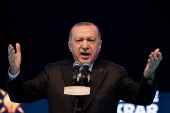 Erdogan suggests international protection force to shield the Palestinians should be formed [File: Umit Bektas/Reuters]