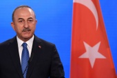 Turkish officials had said Cavusoglu's visit could include talks on possible sales of Turkish drones to Saudi Arabia, which they said Riyadh had requested [File: Annegret Hilse/Reuters]